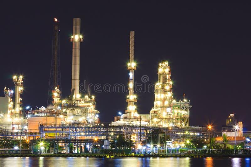 石油炼厂 免版税库存图片