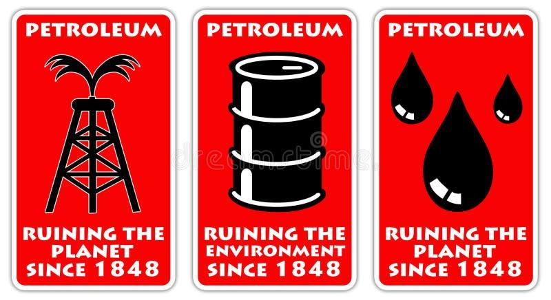 石油 向量例证