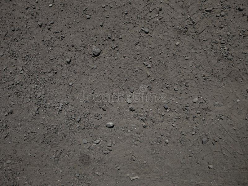 石渣和沙子 库存图片