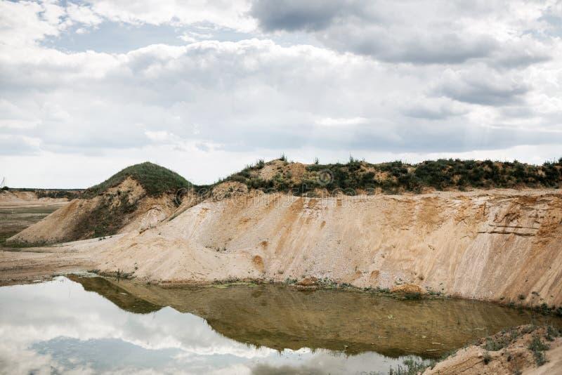 石渣猎物风景 图库摄影