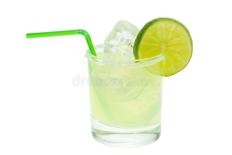 石灰玛格丽塔酒 免版税库存图片