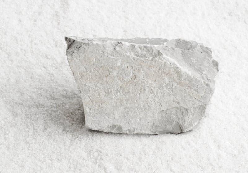 石灰石岩石 免版税库存照片