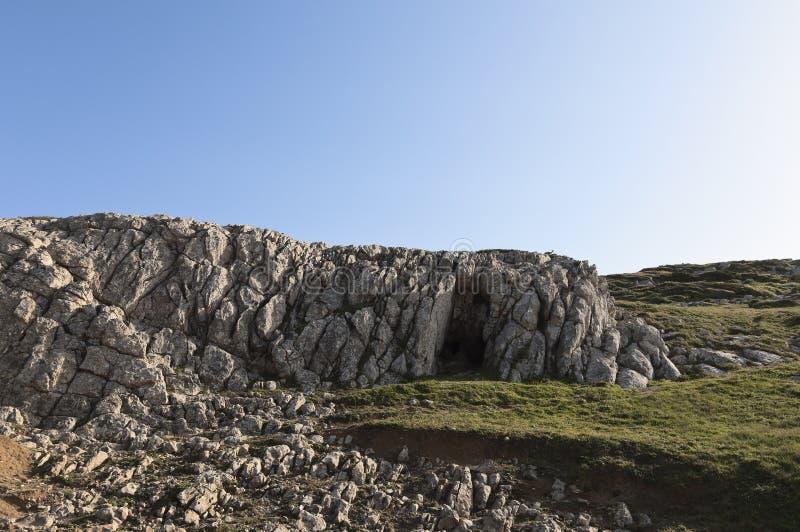 石灰石形成 库存照片