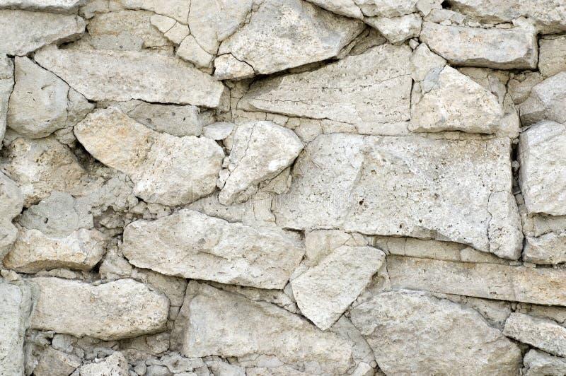 石灰石纹理墙壁 免版税图库摄影