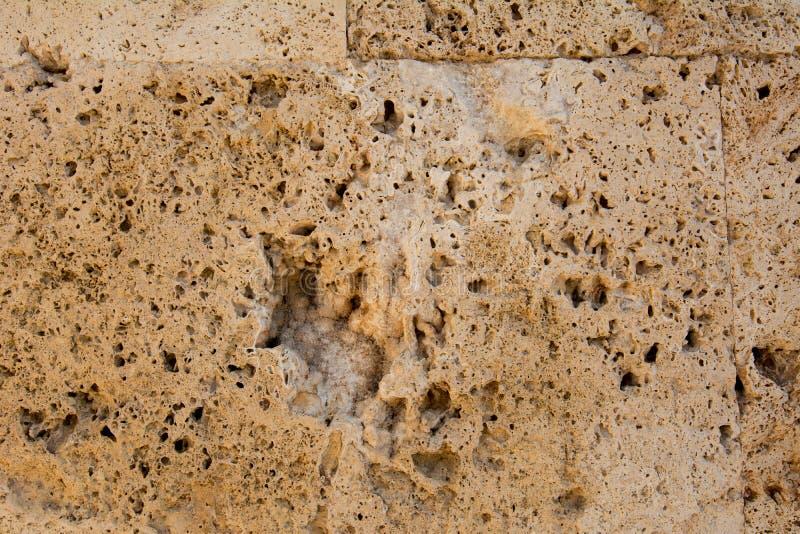 石灰石背景墙壁  图库摄影