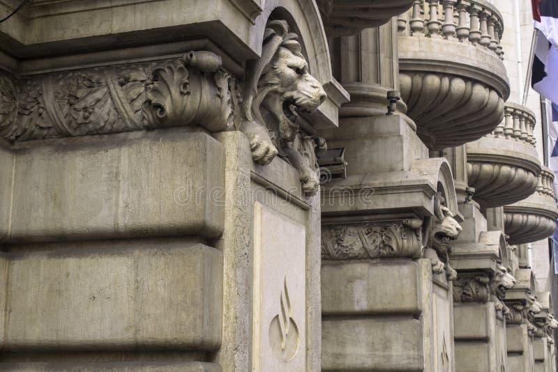 石狮子 免版税图库摄影