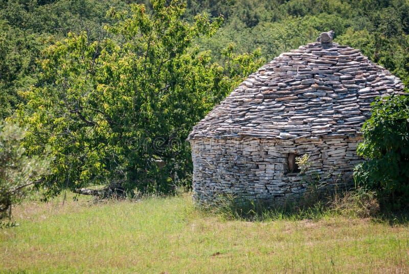 石的房子 免版税库存照片