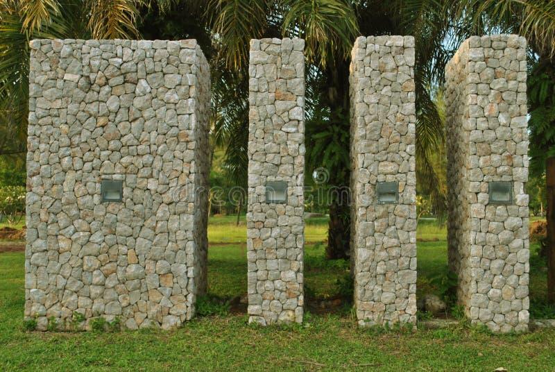 石纪念碑 免版税库存图片