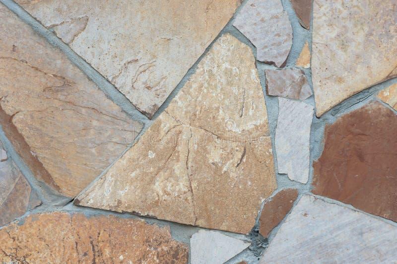 石纹理墙壁,葡萄酒墙壁 免版税库存图片