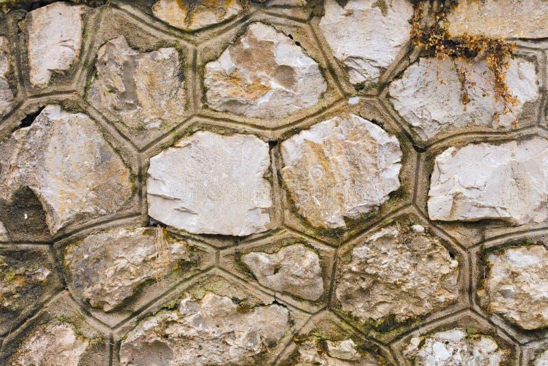 石纹理墙壁 免版税库存图片