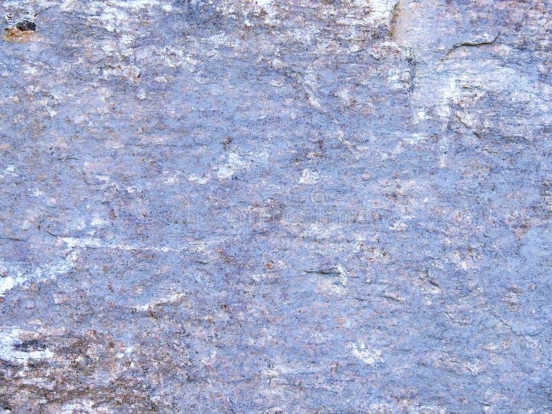 石背景 人为蓝色轻的石墙 免版税库存照片
