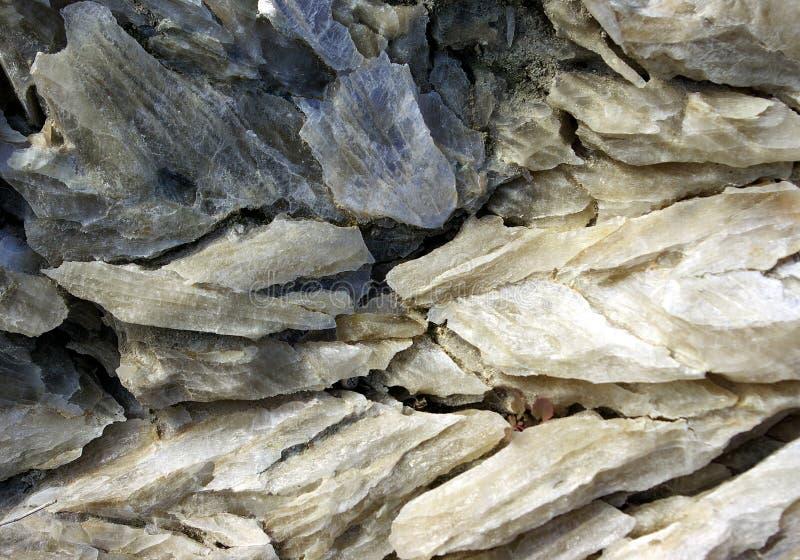 石膏水晶 库存图片