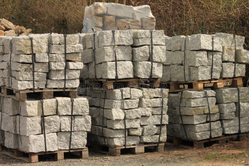 石调色板 库存图片