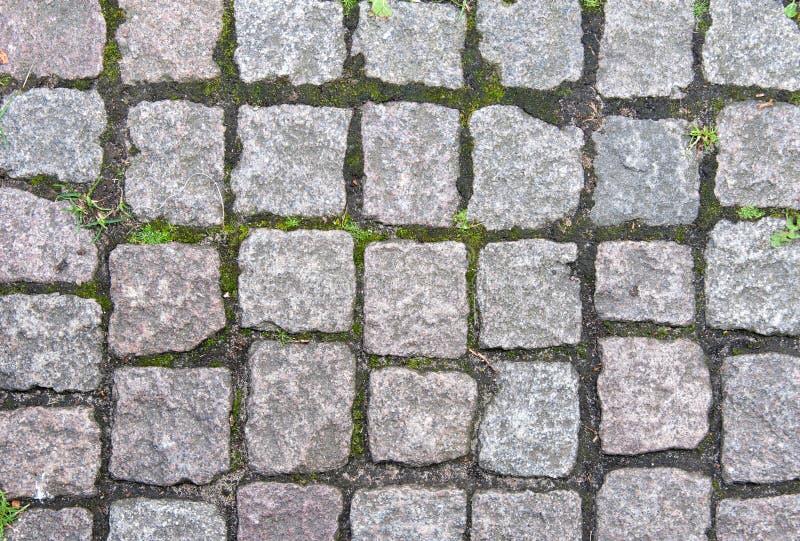 石路面在欧洲 图库摄影