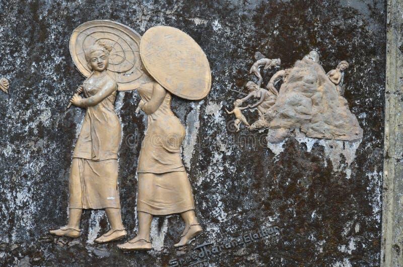 石雕刻 免版税库存图片