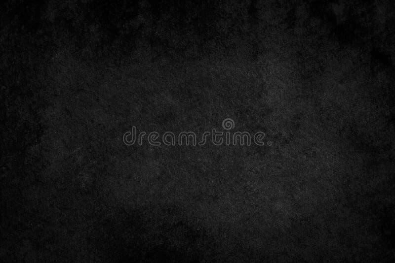 石黑背景纹理 设计的空白 免版税库存照片