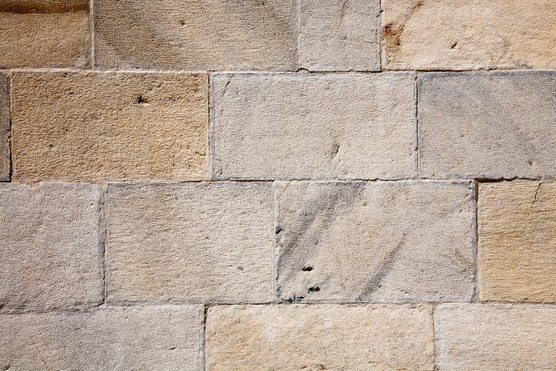 石头阻拦墙壁 库存图片