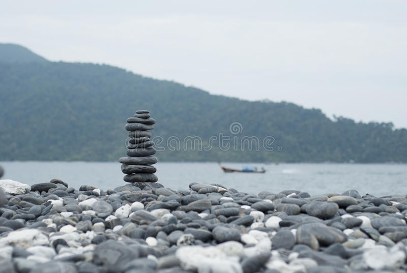 石头行 图库摄影