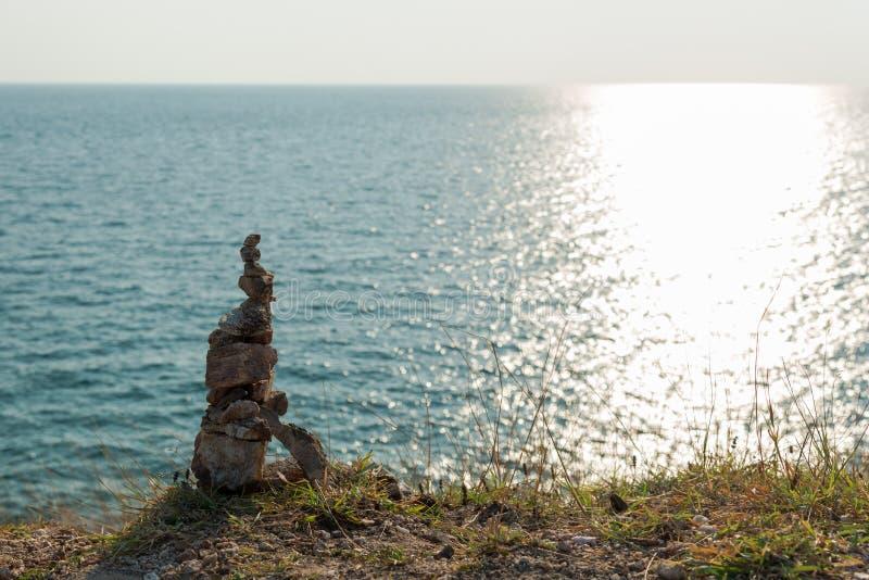 类石头 免版税库存图片