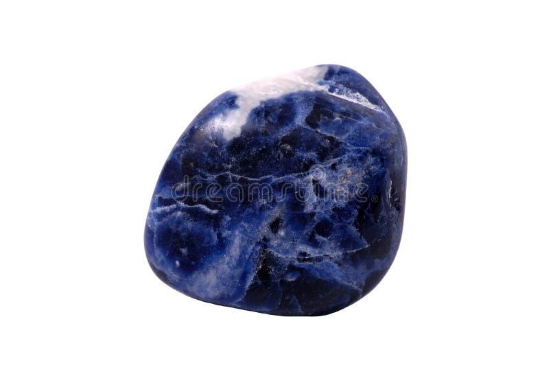 矿物方钠石石头 图库摄影