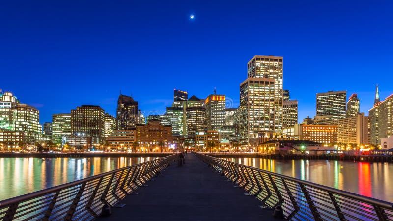 码头14在旧金山 免版税库存照片