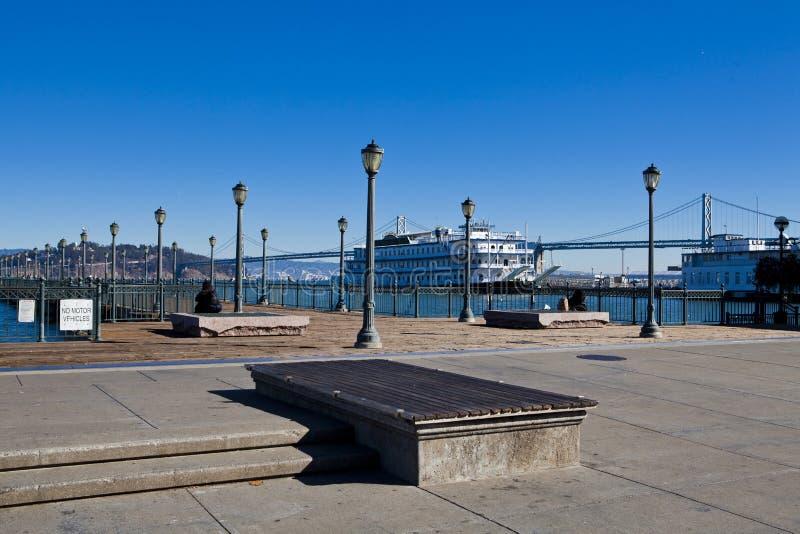 码头七,旧金山 图库摄影