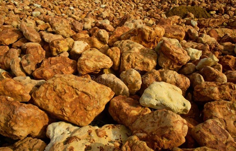 砂岩岩石关闭  库存照片
