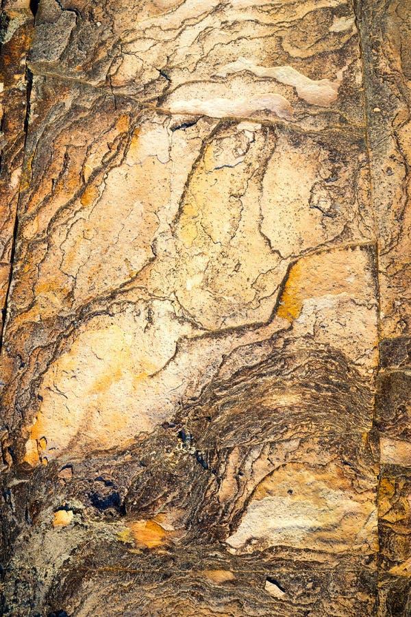 砂岩岩石纹理和样式 库存图片