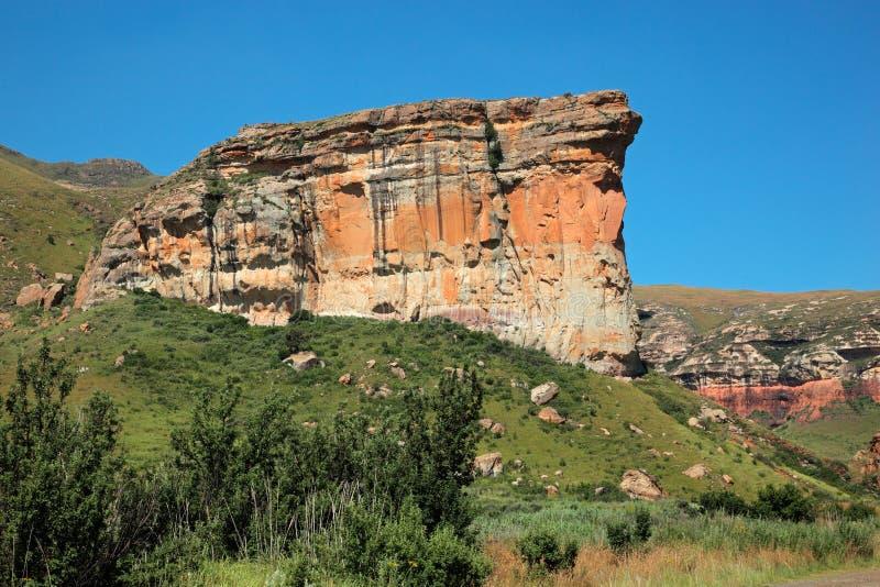 砂岩岩石 库存照片