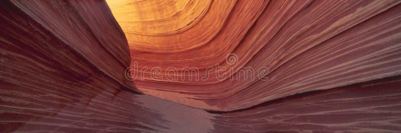 砂岩形成 免版税库存图片