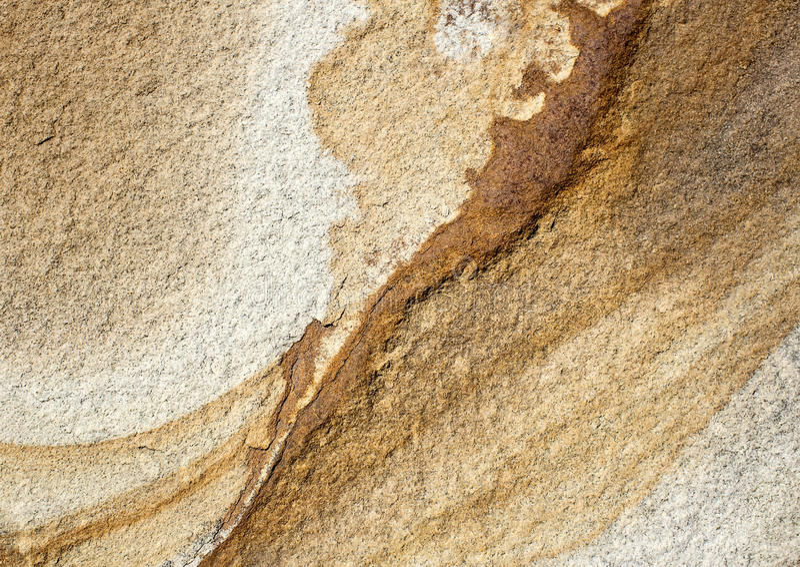 砂岩的纹理 免版税库存照片