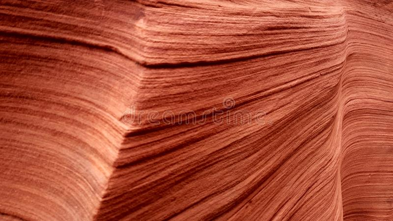砂岩纹理,上部羚羊峡谷,亚利桑那 库存照片