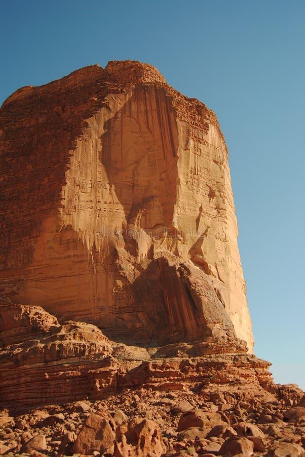 砂岩崩溃 图库摄影