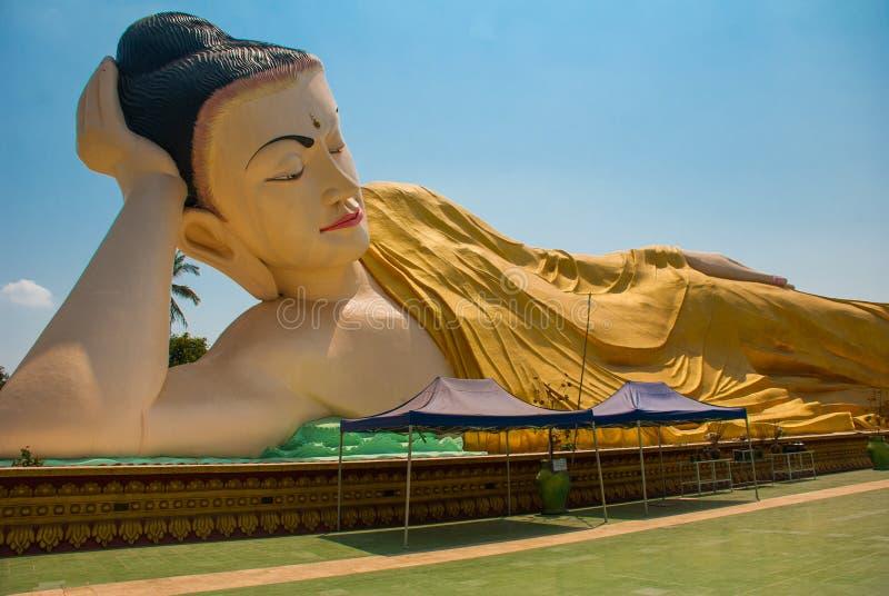 Download 砂海螂Tha Lyaung斜倚的菩萨 Bago Myanma 缅甸 库存图片 - 图片 包括有 历史, 有历史: 72361387