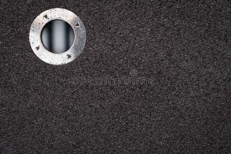 研的盘,金属研的纹理的b磨蚀圆盘石头 库存照片