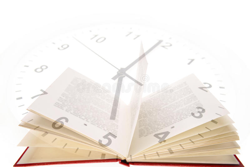 研究时间 库存图片