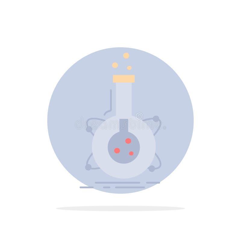 研究,实验室,烧瓶,管,发展平的颜色象传染媒介 皇族释放例证