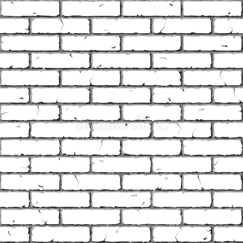 砖例证无缝的墙壁 向量例证