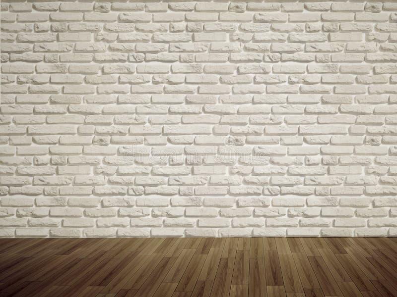 砖倒空墙壁 库存照片
