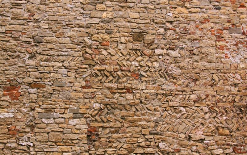 砖做墙壁 库存照片