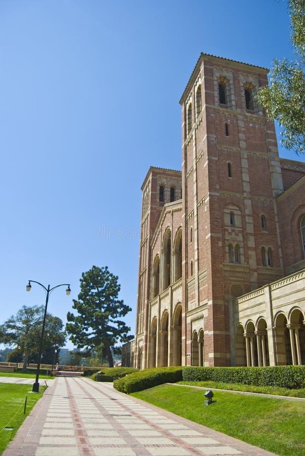 砖加利福尼亚校园大学 库存照片