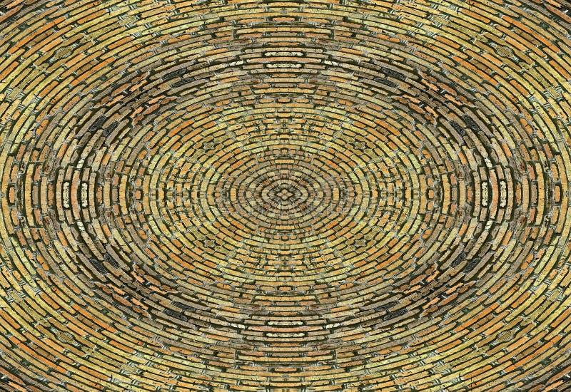 砖卵形抽象 库存图片