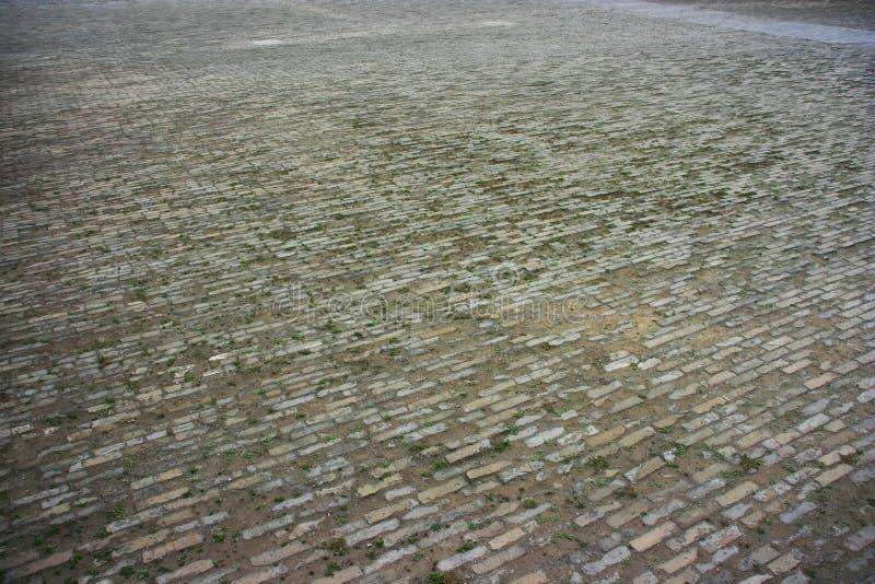 砖厂-故宫,北京,中国 免版税图库摄影