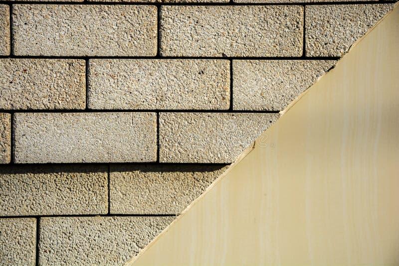 砖和油漆 免版税库存图片