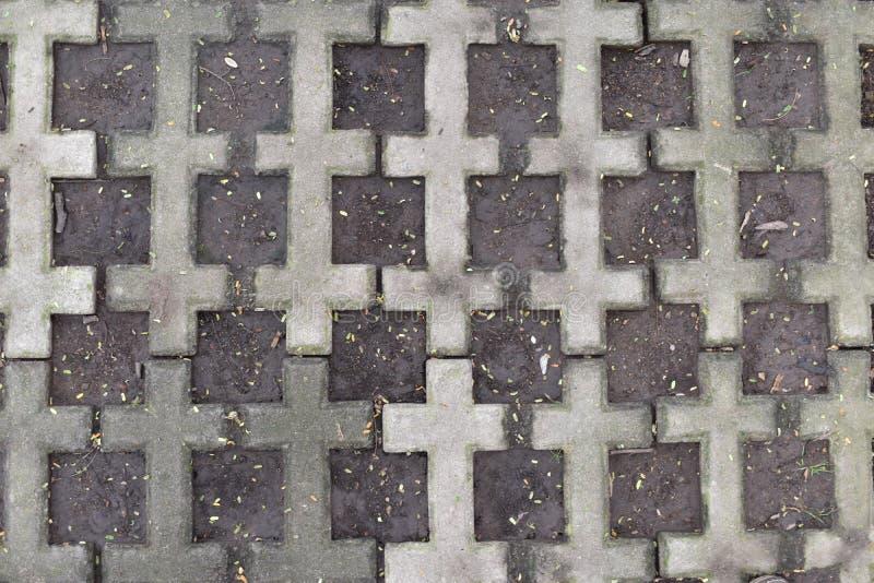 砖和泥 库存照片