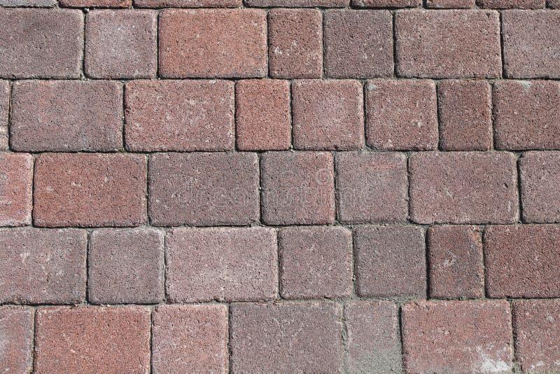 砖地板,水泥块 r 免版税库存照片