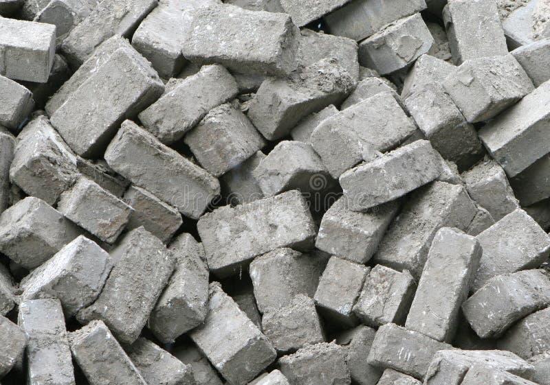 砖堆 免版税库存照片