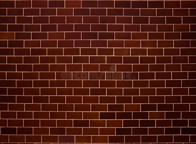 砖墙样式 棕色和灰色表面背景 块和水泥建筑 抽象砖砌纹理 ?? 向量例证