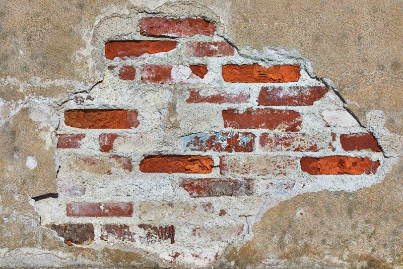 砖墙特写镜头 免版税库存照片