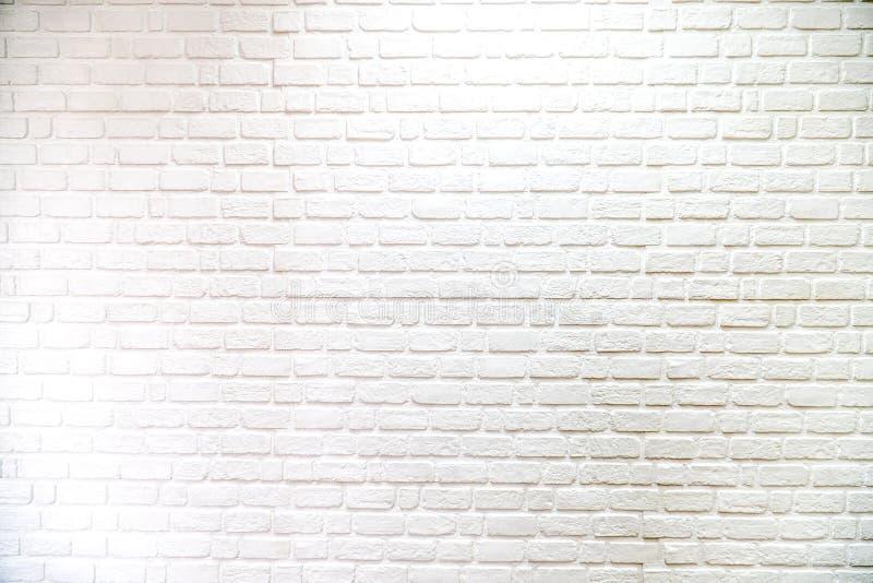 砖墙白色背景和纹理,样式 库存照片